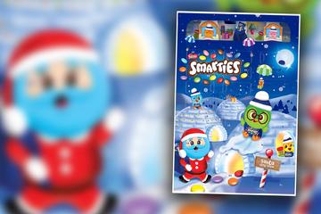 Durchfall-Gefahr! Smarties-Adventskalender hat böse Überraschung hinter Türchen 24