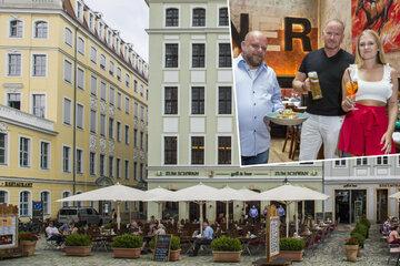 Dresden: Neu am Neumarkt! Dieser Wirt lässt wirklich nichts anbrennen