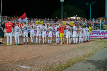 Randale bei Regionalliga-Klassiker: Fans und Ordner verletzt