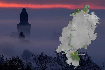 Nebel, Nachtfrost und Sonne: Das Hessen-Wetter bis Freitag