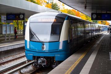 München: Münchner U-Bahn feiert 50. Geburtstag: Moderne Züge im Retro-Look
