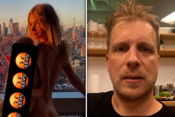 Oliver Pocher ist fassungslos: Berühmtes Model hält Baby auf dem Arm, beide sind nackt