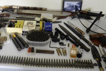 Waffensammlung und Munition bei Wohnungsauflösung entdeckt