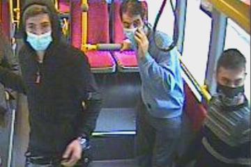 Von der Polizei gesucht: Wer erkennt diese Männer?