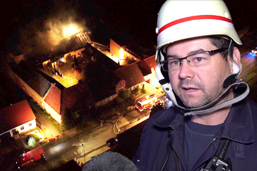 """Scheune brennt plötzlich nieder: """"Schon auf der Anfahrt konnten wir einen Feuerschein sehen"""""""