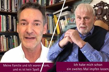Sachsens Promis werben fürs Impfen: Emmerlich & Co. gehen in die Offensive