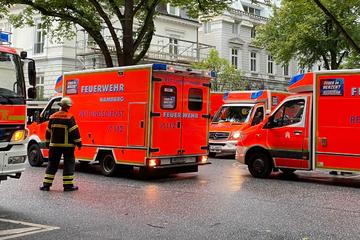 Hamburg: Gasaustritt in Hamburg! Eine Tote, mehrere Verletzte