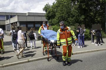 Acht verletzte Schüler nach Reizgas-Attacke