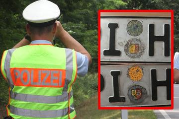 Berauschter Fahrer wird bei Verkehrskontrolle mit gemaltem Kennzeichen erwischt