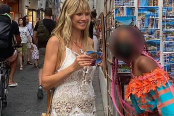 Heidi Klum: Heidi Klum zeigt erstmals ihre Tochter Lou (11)!