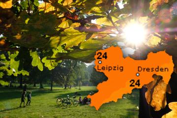 Der Spätsommer verwöhnt die Sachsen weiter, doch das Wetter schlägt bald um!