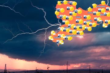 Gewitter in Sachsen im Anmarsch: Und es wird immer heißer!
