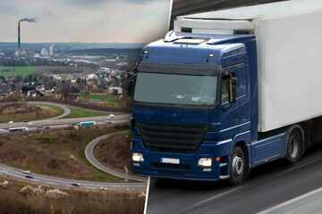 Chemnitz: 42 Meter lang! Mega-Transporter rollt durch Chemnitz, Halte- und Parkverbote geplant
