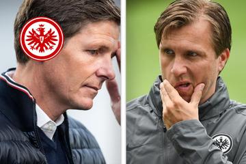 Stellt sich bei der Eintracht bald die Trainerfrage? Sportchef Krösche mit klarer Antwort