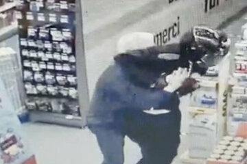 Dieser Ganove hat sich den falschen Edeka ausgesucht: Bundespolizei-Chef fängt Räuber beim Einkaufen