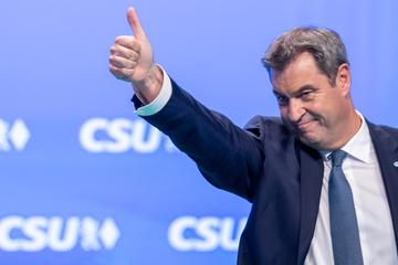 Witz bei Wahlkampfauftritt bringt Söder drei Strafanzeigen ein