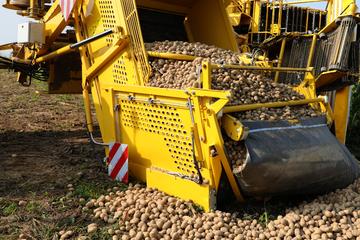 Kartoffelernte-Maschine kippt um: Fünf Verletzte, darunter Kinder