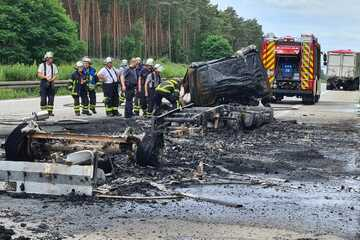 Unfall A2: Schon wieder tödlicher Lkw-Unfall auf A2: Autobahn Richtung Hannover gesperrt!
