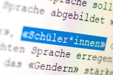 AfD will Gender-Schreibweisen an Schulen in Sachsen verbieten