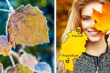 Traum-Herbst mit eisigen Nächten: Das Wochenend-Wetter in Frankfurt und Hessen