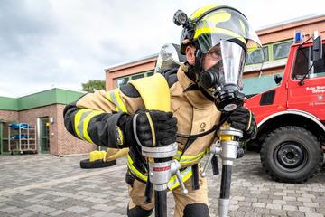 Internationaler Wettkampf: Wer ist der fitteste Feuerwehrmann der Welt?