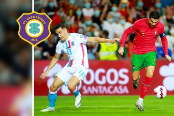 Nach Begegnung mit Superstar Ronaldo: Aues Unglücksrabe Carlson wieder voll da