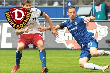 Ex-Dynamo Jannik Müller trifft auf die SGD: Wird er am Sonntag für Darmstadt auflaufen?