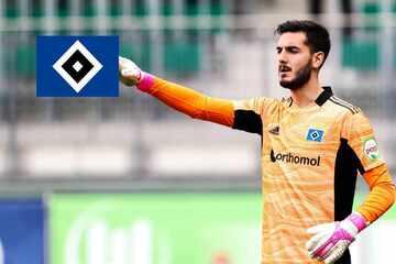 Der HSV muss gegen Fortuna Düsseldorf auf seinen Torwart verzichten