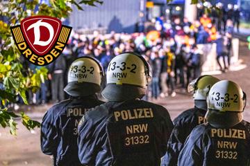 Keine Randale bei Dynamo-Pleite auf Schalke: Polizei zieht positives Fazit