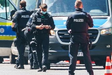 """Verbotene """"Querdenker""""-Demo in Kassel: Polizei mit Großaufgebot vor Ort"""