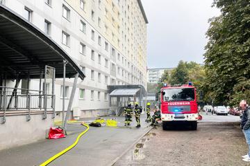 Kellerbrand in Hochhaus: Zwei Babys im Krankenhaus