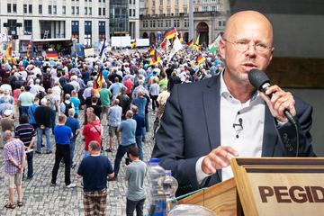 Pegida-Aufmarsch mit rechtsextremem Kalbitz: Nur leiser Gegen-Protest in Dresden geplant!
