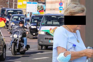 Weil er sie nicht durchlassen wollte: 80-Jährige fährt Polizisten dreimal an