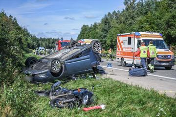 Unfall A7: Tödlicher Crash auf der A7: Zwei Menschen sterben!