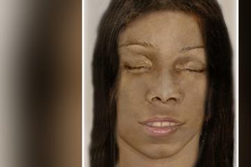 Frauen-Leiche von Pilzsammler entdeckt: Polizei veröffentlicht Phantombild des Opfers