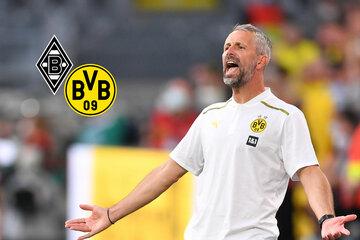 BVB-Coach Rose droht bei Rückkehr nach Gladbach Fan-Ärger