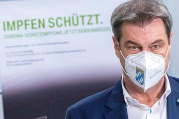 Kampf gegen Corona: Markus Söder warnt vor Delta-Variante