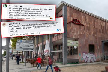 """Chemnitz: """"So begann es 1933 auch"""": Mega-Shitstorm auf Chemnitzer Café wegen 2G-Pflicht"""