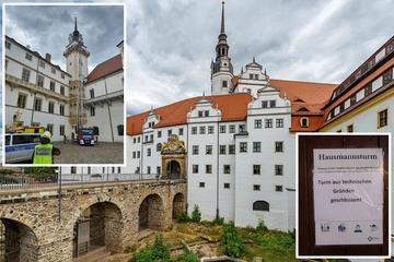 Nach Notfall auf der Aussichtsplattform: Torgau sperrt berühmten Schlossturm