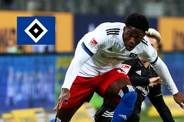 HSV-Youngster Faride Alidou feiert vielversprechendes Pflichtspiel-Debüt