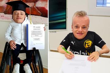 """Rollstuhl-eSportler """"NikLugi"""" und Bernd Leno machen zusammen weiter"""