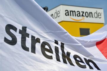 Streik bei Amazon: Mitarbeiter in Bad Hersfeld legen Arbeit nieder