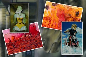 Doppelter Kunst-Klau: Einbrecher schlagen gleich zweimal in Pop-Up-Galerie zu