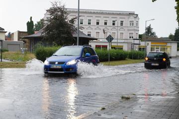 Starke Regenfälle in nördlicher Oberlausitz: Mann stirbt!