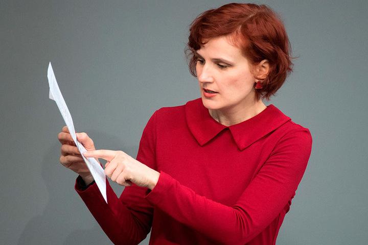Top bei der Beantwortung: Katja Kipping (40, Linke).