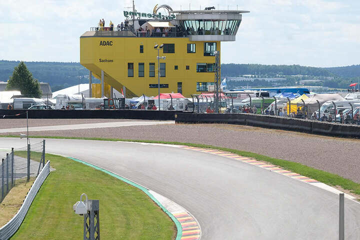 Der Unfall passierte bei einem Fahrsicherheitstraining auf dem Sachsenring.