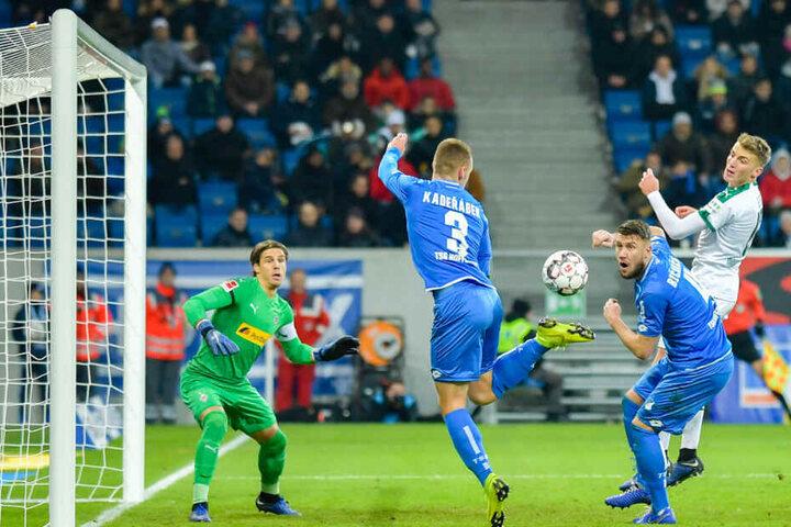 Mitte Dezember spielte Hoffenheim gegen Borussia Mönchengladbach noch in der Wirsol Rhein-Neckar-Arena.
