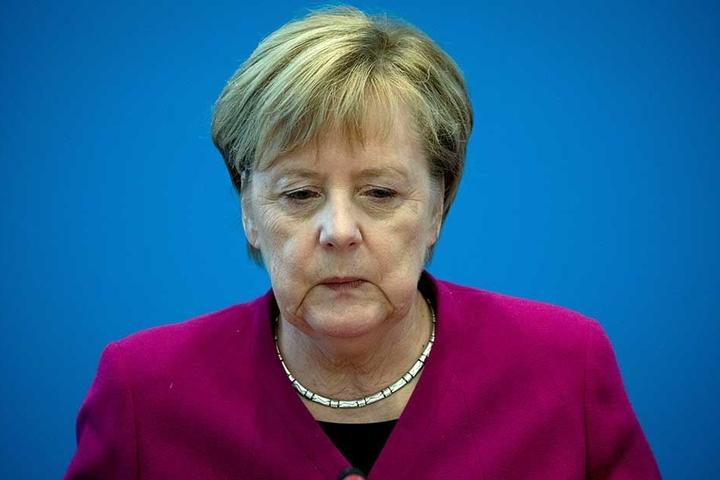 Angela Merkel gab ihren Rückzug als CDU-Vorsitzende bekannt.