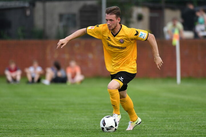 Marc Wachs kam im Sommer zu Dynamo Dresden, wurde Opfer eines brutalen Raubüberfalls.