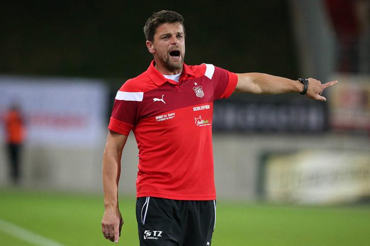 Alles schimpfen half nichts. FSV-Trainer Torsten Ziegner musste sich mit seiner Mannschaft geschlagen geben.